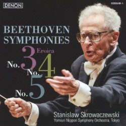 Beethoven: Symphonies Nos 3 - 5 (IMPORT) found on Bargain Bro Philippines from Deep Discount for $36.65