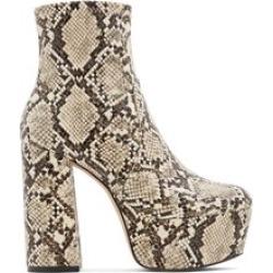 ALDO Karnak - Women's Boots Dress - Beige, Size 7