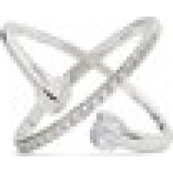 ALDO Lovaunna - Women's Jewelry Rings - Silver-Clear, Size 8