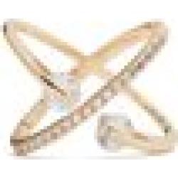ALDO Lovaunna - Women's Jewelry Rings - Gold-Clear, Size 8