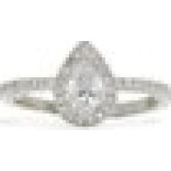 ALDO Tinorfinia - Women's Jewelry Rings - Silver-Clear, Size 7