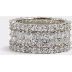 ALDO Ybean - Women's Ring Jewelry - Silver-Clear, Size 8 found on MODAPINS from Aldo Shoes US for USD $22.00