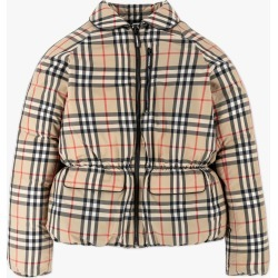 Burberry | Mollie Vintage Check Down Jacket - Beige found on Bargain Bro from basefashion.co.uk for USD $398.87