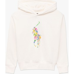 Ralph Lauren   Floral Pony Logo Hoodie - Cream found on Bargain Bro Philippines from basefashion.co.uk for $62.47