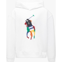 Ralph Lauren   Multi-Colour Pony Logo Hoodie - White found on Bargain Bro Philippines from basefashion.co.uk for $123.55