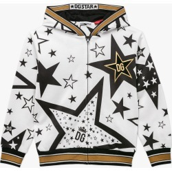 Dolce & Gabbana | Star Zip Hoodie - White found on Bargain Bro India from basefashion.co.uk for $149.66