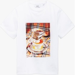 Burberry   Teacup T-Shirt - White found on Bargain Bro Philippines from basefashion.co.uk for $168.04