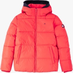 Tommy Hilfiger | Reflective Puffer Jacket - Red found on Bargain Bro Philippines from basefashion.co.uk for $142.13