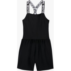 Logo Strap Playsuit - Black found on Bargain Bro from basefashion.co.uk for USD $109.33