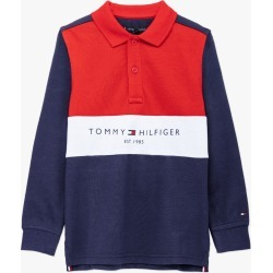 Tommy Hilfiger | L/S Colour Blocked Polo - Navy found on Bargain Bro Philippines from basefashion.co.uk for $49.01
