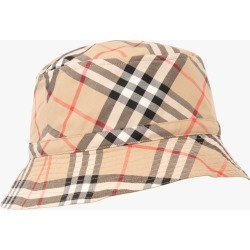 Burberry   Vintage Check Bucket Hat - Beige found on Bargain Bro Philippines from basefashion.co.uk for $168.04