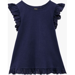 Ralph Lauren   Broderie Anglaise Top - Navy found on Bargain Bro Philippines from basefashion.co.uk for $32.48