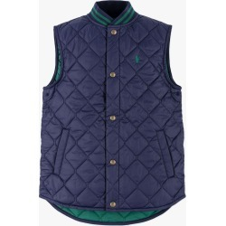 Ralph Lauren   Quilted Pony Vest - Navy found on Bargain Bro from basefashion.co.uk for USD $67.60