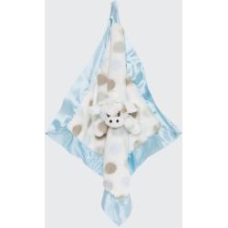 Little Giraffe Dotted Plush Baby Blanket