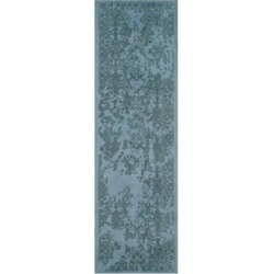 Safavieh Restoration Vintage 4' X 6' Handmade Wool Pile Rug in Blue found on Bargain Bro Philippines from Cymax for $132.99