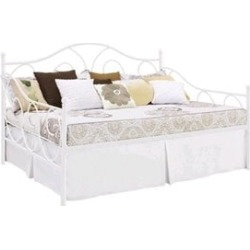 Ameriwood DHP Victoria Metal Full Daybed in White - 4022139
