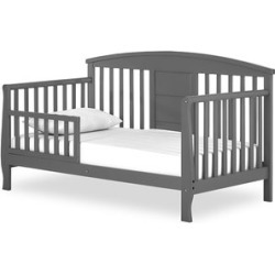 Dream On Me Dallas Toddler Bed in Steel Gray