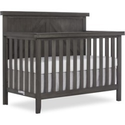 Dream On Me Slumber Baby Olive 4 in 1 Convertible Crib in Weathered Gray