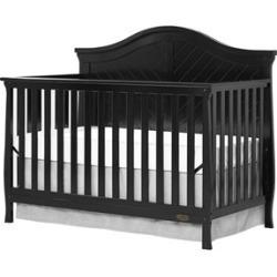 Dream On Me Kaylin 5 in 1 Convertible Crib in Black