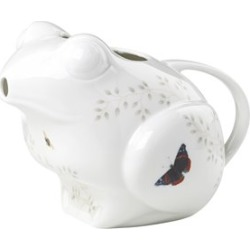 Lenox Butterfly Meadow Frog Pitcher in White - 857686