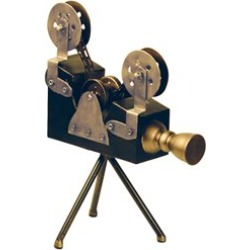 Sterling Olivier Camera Display in Black and Gold - 51-8212