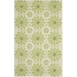 Safavieh Safavieh Kids 4' X 6' Hand Tufted Rug in Beige and Green found on Bargain Bro Philippines from Cymax for $146.99