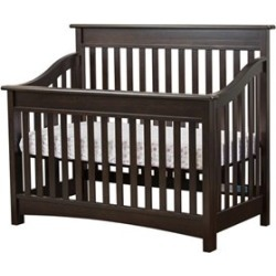 Dreamonme Evolur Avery 5 in 1 LifeStyle Convertible Crib in Espresso - 804-E