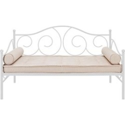 Ameriwood DHP Victoria Metal Twin Daybed in White - 5544096
