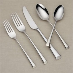Lenox Bistro Cafe 5 Piece Stainless Steel Flatware Set - 6199640