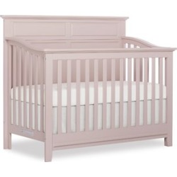 Sweet Pea Baby Fairview 4 in 1 Convertible Crib in Blush Pink