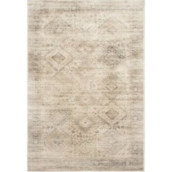 Safavieh Vintage 10' X 14' Power Loomed Viscose Pile Rug in Stone found on Bargain Bro Philippines from Cymax for $647.99
