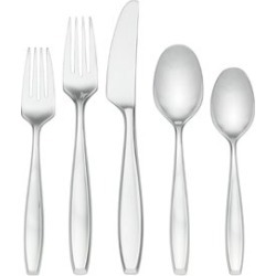 Lenox Classic Fjord II 5 Piece Stainless Steel Flatware Set - 819590