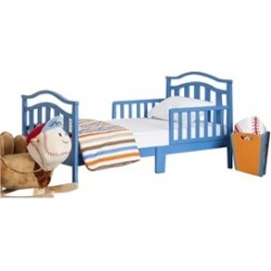 Dream On Me Elora Toddler Bed in Wave Blue