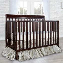 Dreamonme Alissa 4 in 1 Convertible Crib in Espresso - 654-E