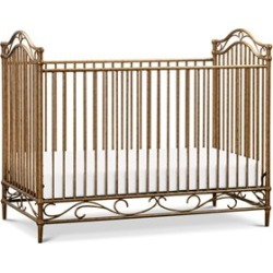 Million Dollar Baby Classic Camellia 3 In 1 Convertible Crib in Vintage Gold