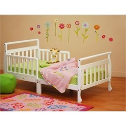 Athena Anna Toddler Bed in White