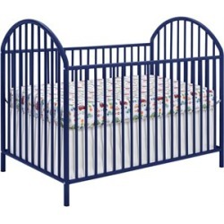 Ameriwood Home Prism Crib in Navy Blue - 5852496PCOM