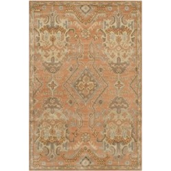 Safavieh Wyndham 6' X 9' Power Loomed Acrylic Rug in Terracotta found on Bargain Bro Philippines from Cymax for $339.99