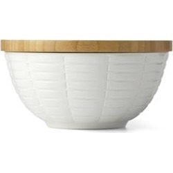 Lenox Entertain 365 Medium Serving Bowl in White and Brown - 865865
