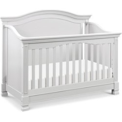 Million Dollar Baby Classic Louis 4 in 1 Convertible Crib in Cloud Gray