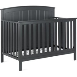 Baby Relax Colton 5-in-1 Convertible Crib in Slate Gray