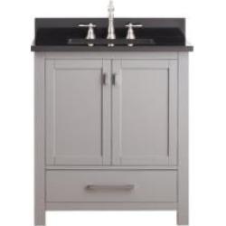 "Avanity MODERO-VS30-CG Modero 30"" Free Standing Single Bathroom Vanity Set in Chilled Gray Finish"