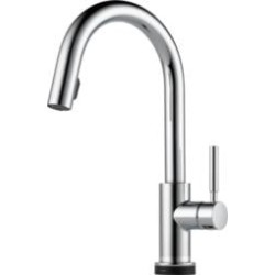 Brizo 64020LF Solna Single Handle Single Hole Pull-Down Kitchen Faucet With Smarttouch(R) Technology
