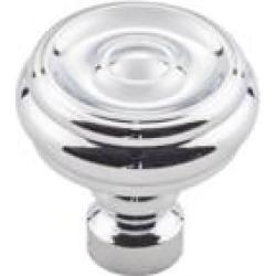 """Top Knobs TK882 Devon 1 1/4"""" Zinc Alloy Designer Shaped Brixton Button Cabinet Knob"""