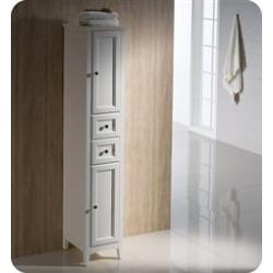 Fresca FST2060AW Oxford Antique White Tall Bathroom Linen Cabinet