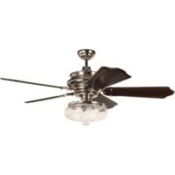 """Craftmade K11262 Townsend 5 Blades 56"""" Indoor Ceiling Fan with Incandescent Light Kit in Classic Ebony"""