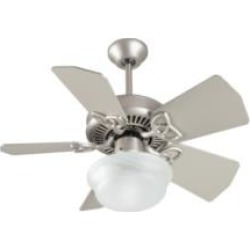 """Craftmade K10149 Piccolo 5 Blades 30"""" Indoor Ceiling Fan in Brushed Nickel"""