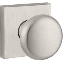 """Baldwin ENROUCSR Reserve 2 1/4"""" Keyed Entry Door Knob with Contemporary Square Rosette"""