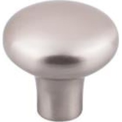 "Top Knobs M2086 Aspen II 1 5/8"" Cast Bronze Round Shaped Round Cabinet Knob in Brushed Satin Nickel"