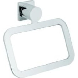 """Grohe 40339000 Allure 7 1/2"""" Wall Mount Towel Ring in Chrome"""